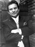 Joe Pesci Leaning in Tuxedo Photo by  Movie Star News