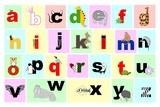 Animal Alphabet Art by Veruca Salt