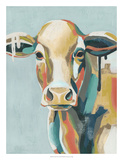 Colorful Cows I Posters by Grace Popp