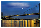 George Washington Bridge I Poster by James McLoughlin