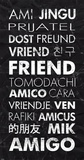 Friend in Different Languages Posters by Veruca Salt
