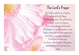 Lord's Prayer - Floral Prints by Veruca Salt