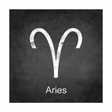 Aries - Black Posters by Veruca Salt