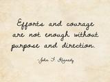 Efforts and Courage Plakaty autor Veruca Salt