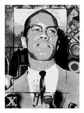 Malcolm X Poster by Veruca Salt