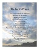 The Lord's Prayer - Scenic Poster by Veruca Salt