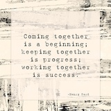 Coming Together Print by Veruca Salt