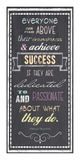 Achieve Success - Nelson Mandela Quote Prints by Veruca Salt