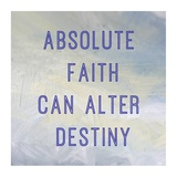 Absolute Faith Poster by Veruca Salt