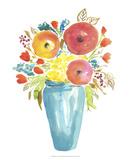 Flower Vase II Posters by Julia Minasian