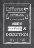 Efforts & Courage Posters by Veruca Salt