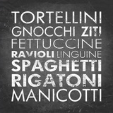 Pasta I Square Prints by Veruca Salt