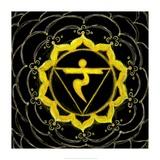 Manipura - Solar Plexus Chakra, Sparkling Jewel Prints by Veruca Salt