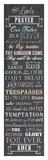 The Lord's Prayer - Chalkboard Plakater af Veruca Salt