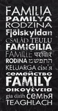 Family in Different Languages Posters by Veruca Salt