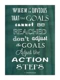 Veruca Salt - Cíle, Goals (citát vangličtině) Plakát