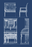 Furniture Blueprint III Poster by  Vision Studio