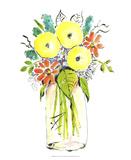 Flower Vase I Art by Julia Minasian