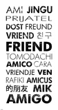 Friend Languages Láminas por Veruca Salt