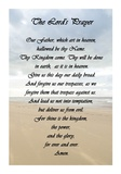 The Lord's Prayer - Beach Posters by Veruca Salt