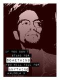 Stand for Something - Red Plakater av Veruca Salt