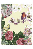 Bird Garden II Posters por Naomi McCavitt