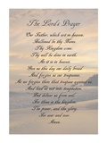 The Lord's Prayer - Sunset Plakat af Veruca Salt