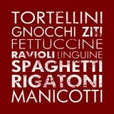 Pasta II Square Prints by Veruca Salt