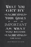 Achieving Your Goals Reprodukcje autor Veruca Salt