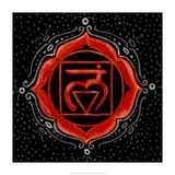 Muladhara - Root Chakra, Support Art by Veruca Salt