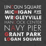 Chicago Cities Prints by Veruca Salt