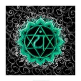 Anahata - Heart Chakra, Flawless Print by Veruca Salt