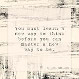 You Must Learn Plakat autor Veruca Salt