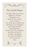 The Lord's Prayer - Floral Posters by Veruca Salt