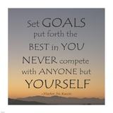 Set Goals Prints by Veruca Salt
