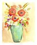Flower Vase III Prints by Julia Minasian