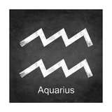 Aquarius - Black Prints by Veruca Salt