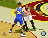 Stephen Curry & Lebron James Game 3 of the 2016 NBA Finals Photo