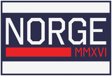 NORGE MMXVI Blue Fan Sign Prints