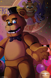 Five Nights At Freddy'S - Pizzeria Fun Prints