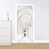 Purely Arcade Door Mural Wallpaper Mural