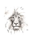 Lion Reprodukcje autor Philippe Debongnie