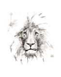 Lion Prints by Philippe Debongnie