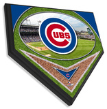 Wrigley Field Home Plate Plaque Wall Sign