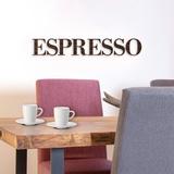 Espresso - Brown Autocollant