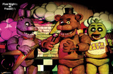 Five Nights At Freddy'S - Bandstand Trio Prints