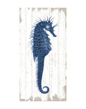 Seahorse in Blue I Posters by  Sparx Studio