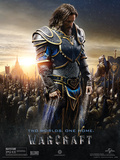 Warcraft- Lothar Two Worlds. One Home Poster