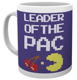 Pacman - Leader of the Pac Mug Tazza