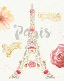 Paris Blooms I Posters by Jess Aiken